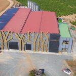 Paneles solares instalados por Contigo Energía en Bodegas Menade (Valladolid)