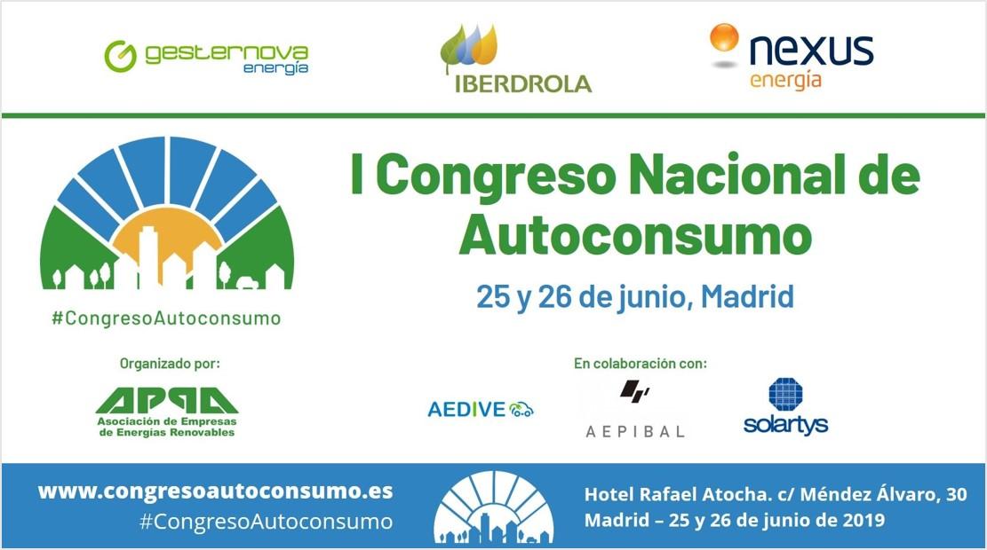Contigo Energia patrocina el Congreso Autoconsumo